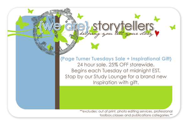 New Page Turner Tuesdays