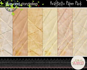 Kraftastic Paper Pack by Angela Woo