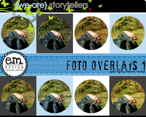 Foto Overlays 1 by Emily Merritt