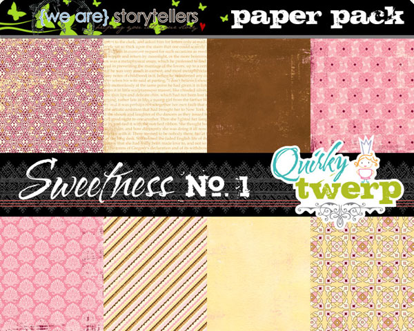 Sweetness Add On Paper Pack