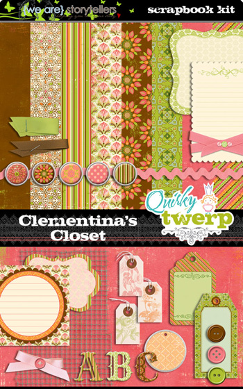 Clementina's Closet Kit by Quirky Twerp